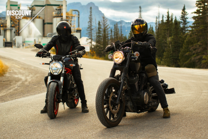 2 Motorcycle riders